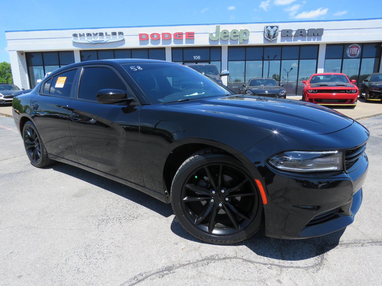 Certified Pre Owned 2016 Dodge Charger Se